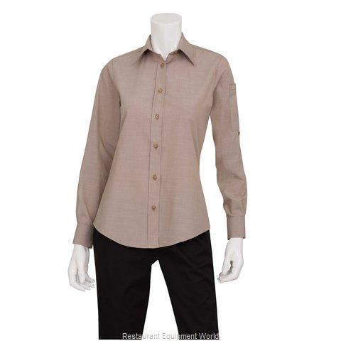 Chef Works SLWCH002ECR2XL Dress Shirt