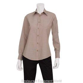 Chef Works SLWCH002ECRM Dress Shirt