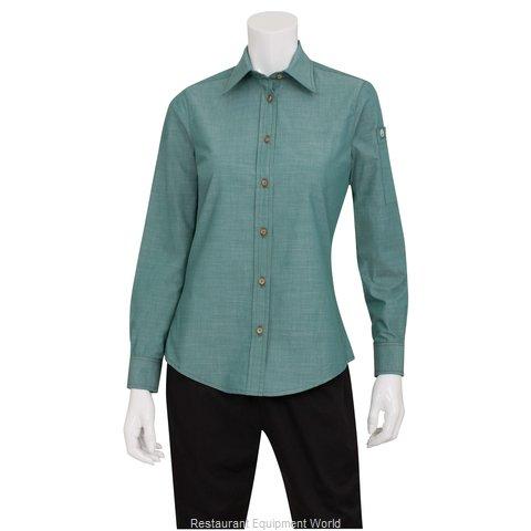 Chef Works SLWCH002GRM2XL Dress Shirt