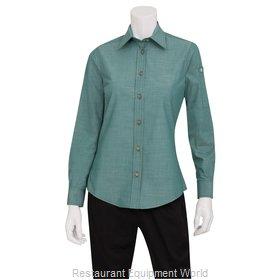 Chef Works SLWCH002GRML Dress Shirt