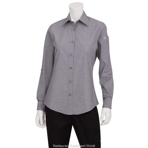 Chef Works SLWCH002GRYL Dress Shirt