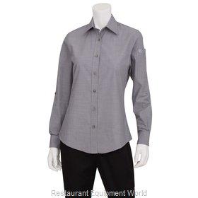 Chef Works SLWCH002GRYS Dress Shirt