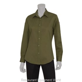 Chef Works SLWDC005CLO2XL Cook's Shirt
