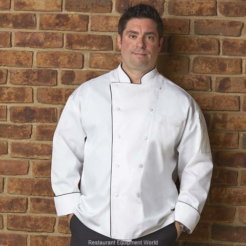 Chef Works TRCCWHT4XL Chef's Coat