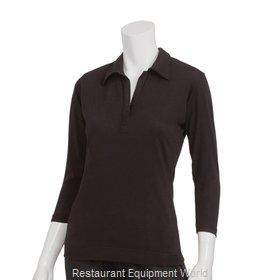 Chef Works TSWOBLK2XL Cook's Shirt