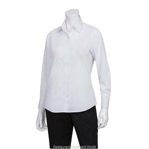 Chef Works W100WHT3XL Dress Shirt