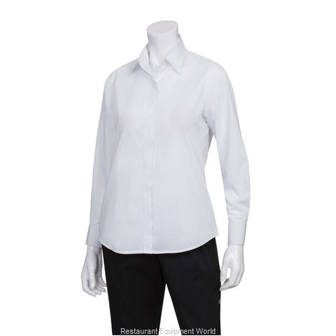Chef Works W100WHTS Dress Shirt