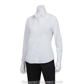 Chef Works W100WHTXS Dress Shirt