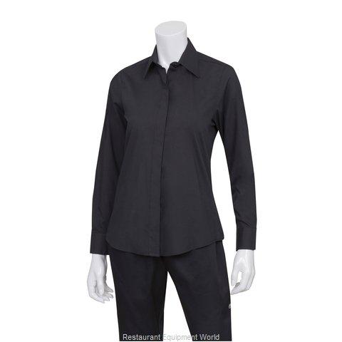 Chef Works W150BLK2XL Dress Shirt