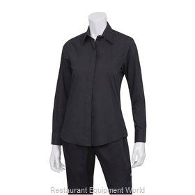 Chef Works W150BLK2XL Dress Shirt