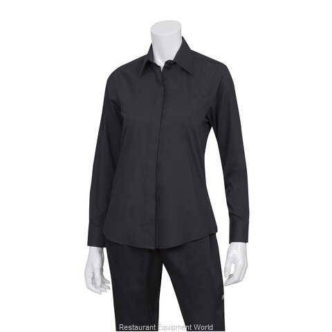 Chef Works W150BLKL Dress Shirt
