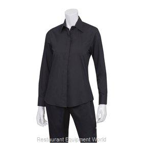 Chef Works W150BLKXS Dress Shirt