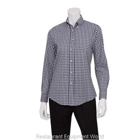 Chef Works W500BWK3XL Dress Shirt