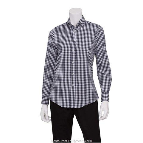 Chef Works W500BWKXL Dress Shirt