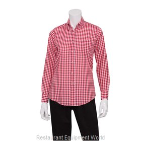 Chef Works W500WRC2XL Dress Shirt