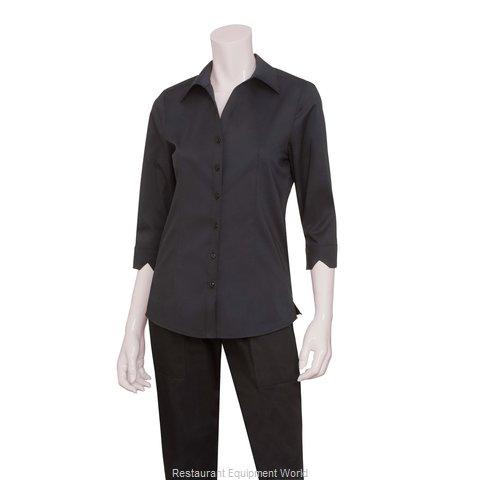 Chef Works WA34BLKXL Dress Shirt