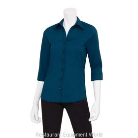 Chef Works WA34BLUXS Dress Shirt