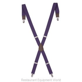 Chef Works XNN01PUR0 Suspenders