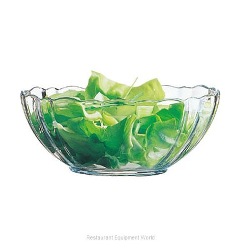 Cardinal Glass 00531 Serving Bowl, Glass (Magnified)