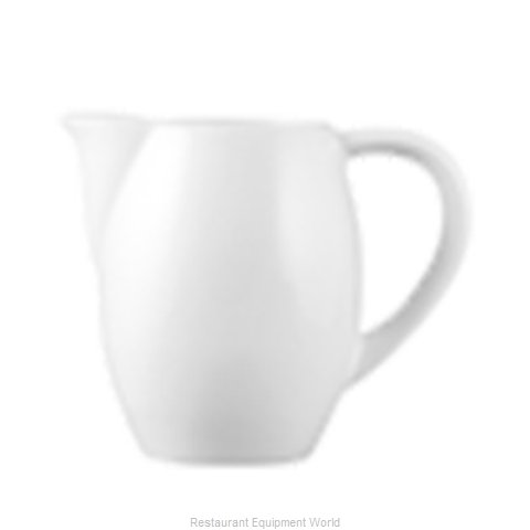 Cardinal Glass 3PLW625A Creamer / Pitcher, China (Magnified)
