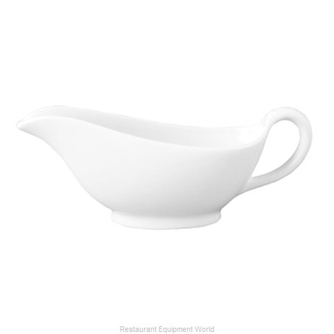 Cardinal Glass 3PLW801X Gravy Sauce Boat, China (Magnified)