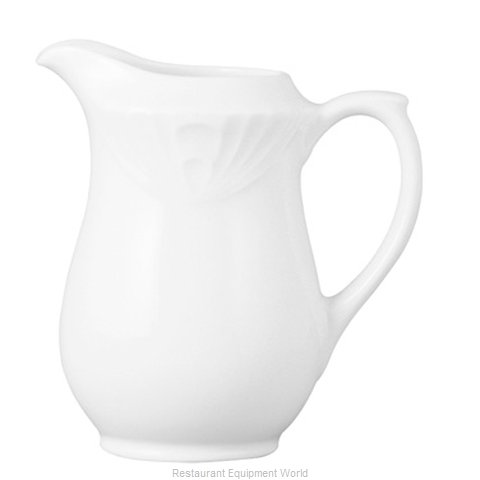 Cardinal Glass 3PWL699L Creamer / Pitcher, China (Magnified)