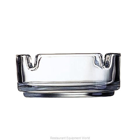 Cardinal Glass 51257 Ash Tray, Glass (Magnified)