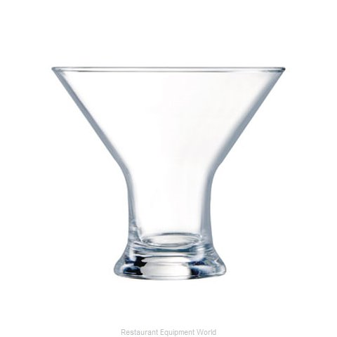 Cardinal Glass E3423 Glass Cocktail Martini (Magnified)