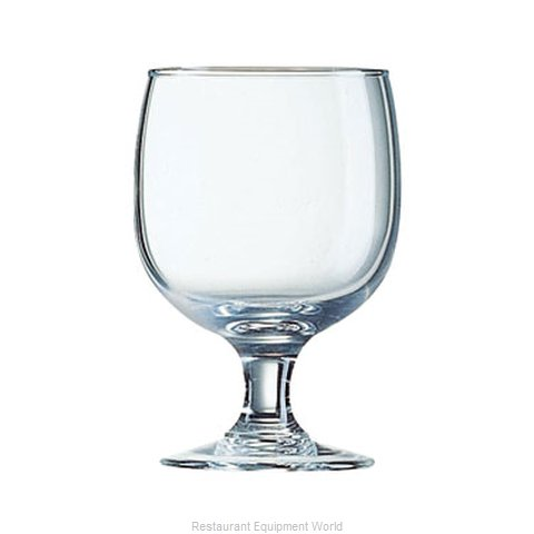 Cardinal Glass E3562 Glass Goblet (Magnified)