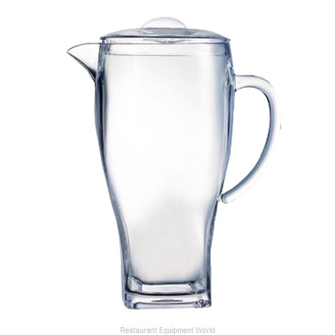 Cardinal Glass E6124 Pitcher, Plastic (Magnified)