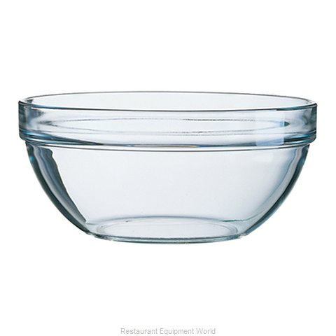 Cardinal Glass E9155 Serving Bowl, Glass (Magnified)