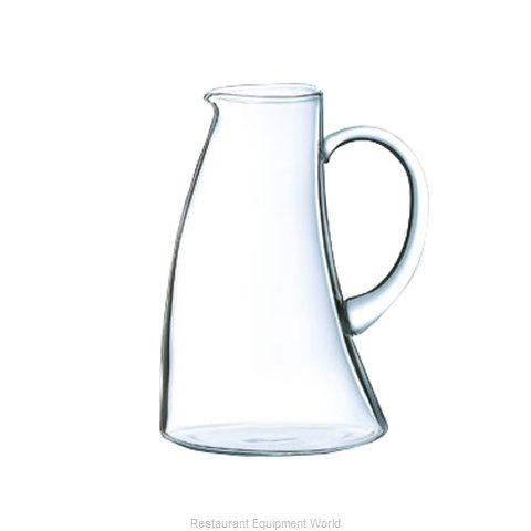 Cardinal Glass H3009 Pitcher, Glass (Magnified)