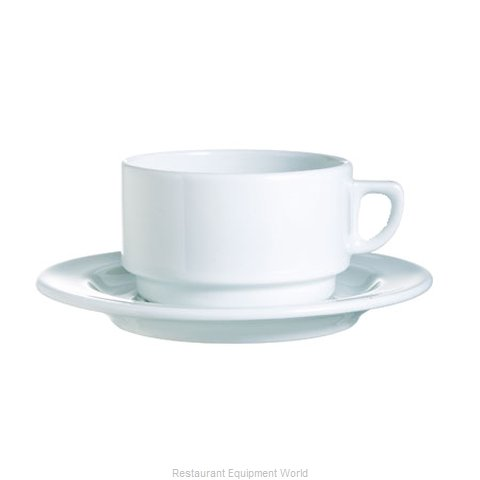 Cardinal Glass R0833 Saucer, China
