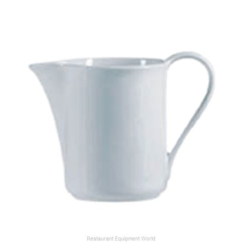 Cardinal Glass S0118 Creamer / Pitcher, China (Magnified)