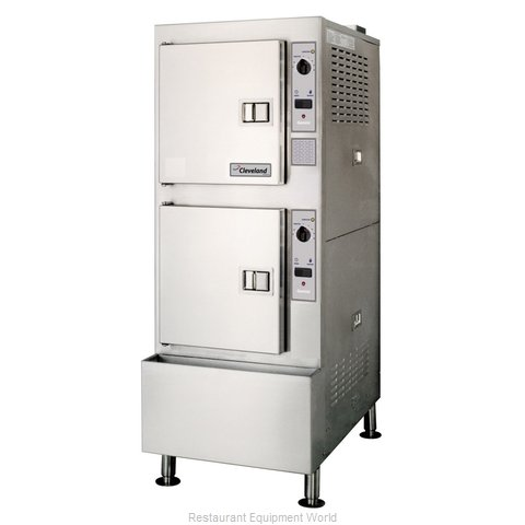 Cleveland Range 24CGA10 Steamer, Convection, Gas, Floor Model