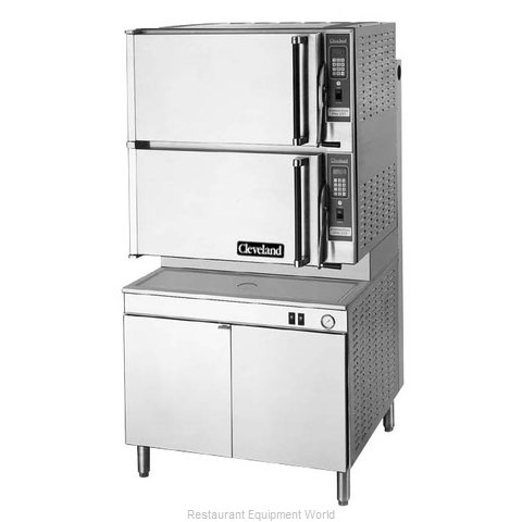 Cleveland Range 36CGM16300 Steamer, Convection, Gas, Floor Model