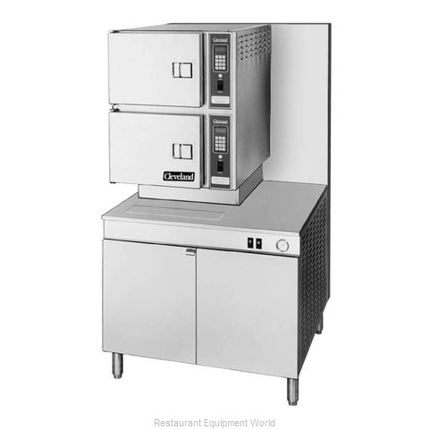 Cleveland Range 36CGM300 Steamer, Convection, Gas, Floor Model
