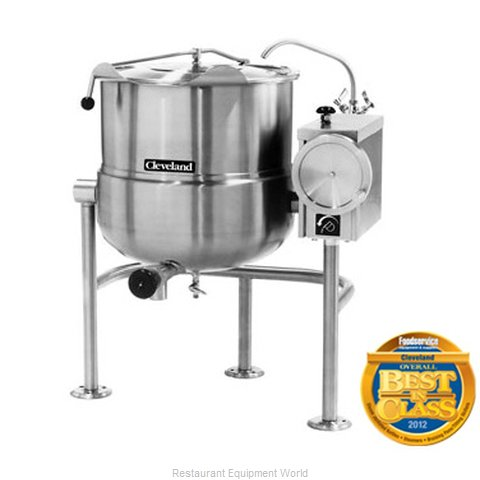 Cleveland Range KDL-80-T Tilting Kettle Direct Steam