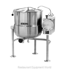 Cleveland Range KDL100T Kettle, Direct Steam, Tilting