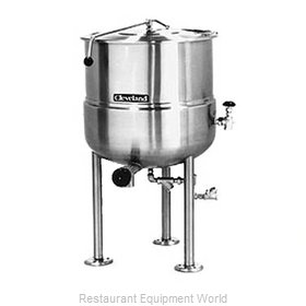 Cleveland Range KDL150 Kettle, Direct Steam, Stationary