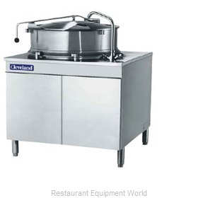 Cleveland Range KDM40T Kettle, Direct Steam, Tilting