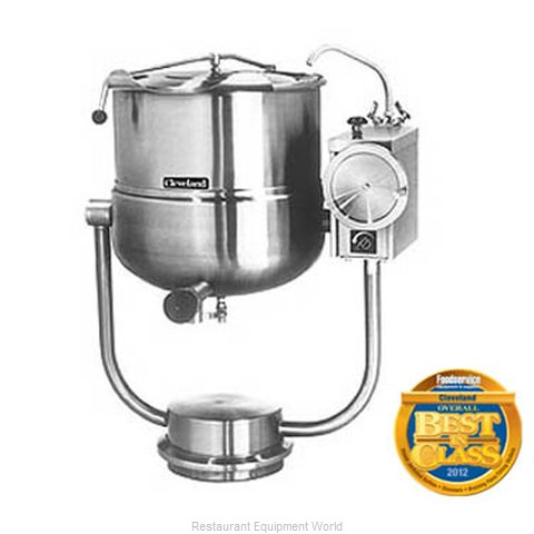 Cleveland Range KDP-25-T Tilting Kettle Direct Steam