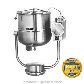 Cleveland Range KDP-40-T Tilting Kettle Direct Steam