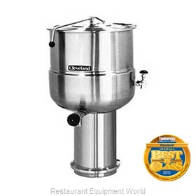 Cleveland Range KDP-40 Kettle Direct Steam