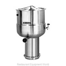 Cleveland Range KDP100 Kettle, Direct Steam, Stationary