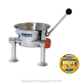 Cleveland Range KDT-1-T Kettle Direct Steam Table Top