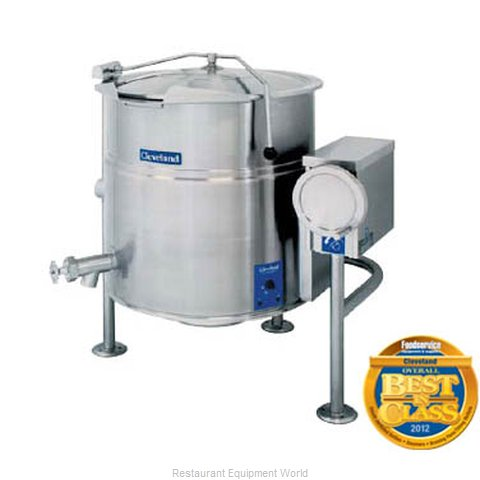 Cleveland Range KEL-40-T Steam Jacketed Kettle (Magnified)