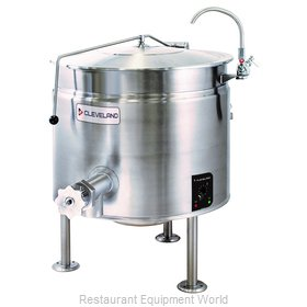 Cleveland Range KEL40SH Kettle, Electric, Stationary