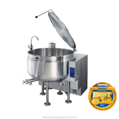 Cleveland Range KGL-40-SH Stationary Kettle 40 gal (Magnified)