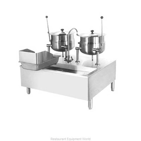 Cleveland Range SD1200K612 Kettle Cabinet Assembly, Direct-Steam